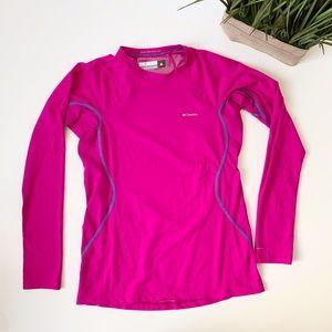 Columbia Omni Heat Long Sleeve Pink Size Medium